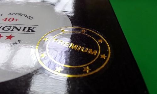 Новые мячи Kingnik Premium 40+ уже в продаже