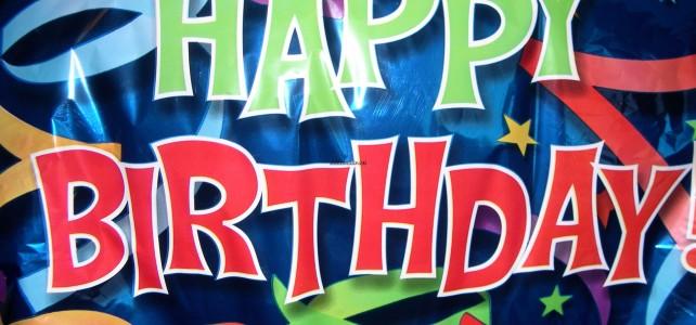 С днем рождения !!!