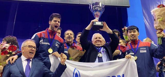 Факел-Газпром» чемпион Лиги европейских чемпионов!