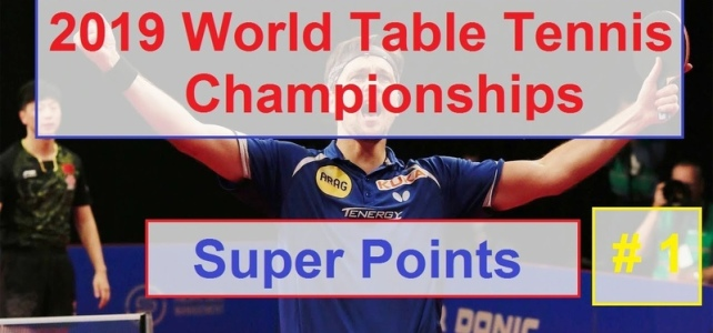 2019 ITTF WC Super Points #1