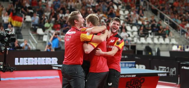 Мужская сборная Германии — чемпионы European Championships 2019