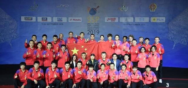 Китайские теннисисты завоевали все золото чемпионата Азии-2019